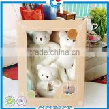 Custom Cardboard bear doll paper packaging box with clear plastic window