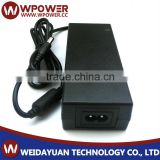 POWER SUPPLY,SWITCHING,TABLE TOP,REGULATED,60 WATT,12VDC 5A,F2,2.1MMX5.5MM,(WITH O CORD),UL/CEC