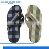 New product mens comfortable sandals wedge flip flops made in China