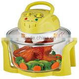 12L EL-815Y yellow color flavorwave halogen infrared oven/ aerogril oven/ electric air fryer