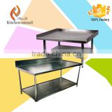 Philippines hotel popular Commercial Stainless Steel kitchen Chopping Block Stand for canteen project