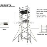 aluminium planks scaffold