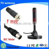 DVB-T antenna 28dbi high gain active hdtv dvb-t antenna with amplifier and extension cable RG58 dvbt antenna