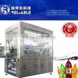 Olive oil glass bottle hot melt glue labeling machinery