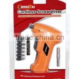 Blister packing 6Volt AA battery screwdriver