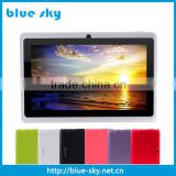 "7 inch Android4.4 Google 2000mAh Battery Tablet PC WiFi Quad Core 1.5GHz 512MB 8GB Q88 Allwinner A33 7"" Dual Cameras"