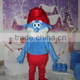 HI CE wholesale blue elf mascot costume, kids halloween costume