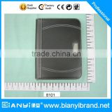 Promotional A4 zipper PU leather portfolio with writing pad and calculator                                                                         Quality Choice