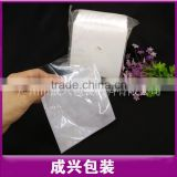 Plastics transparent PP+Non-woven Sleeve double hard plastic sleeves adhesive pvc cd sleeve