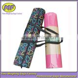 Hot Selling Full Printed Satin Round Handle Fashion Yoga bag