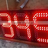 16inches factory price various color 7 segment led display 4 digits for clock