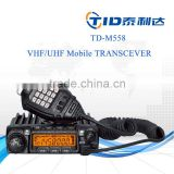 TD-M558 FM UHF VHF radio transceiver walkie talkie 50km