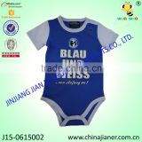 High Quality Wholesale Baby Clothes Sport Style Infant Baby Bodysuit