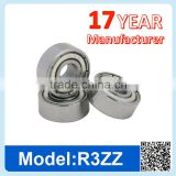 R3 ZZ RS Miniature Ball Bearing Deep Groove Ball Bearing