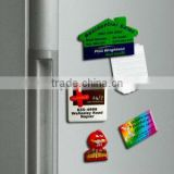 Promotional item High Qualty Made In China Sedex Vinyl Laminated Paper Calendar Fridge Magnet