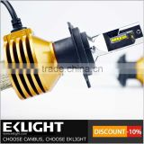 EKLIGHT TUV/CE/ROSH/Emark 6V H1 H3 H11 9005 H7 led headlight bulb / H4 led headlight 100w