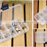 10 Grid Jewelry Display Organizer Storage Box Storage Beads Display Holder Case For Gift Box Hot Sell