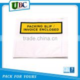 china wholesale packing list envelope
