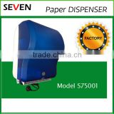 Plastic Auto Cut Tissue Paper Dispenser / Holder