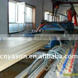 pvc WPC Door board production line/wpc door window making machine wpc machine