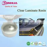 Hard Clear Epoxy Resin for Fiberglass, Carbon Fiber Reinforce for Car Spareparts