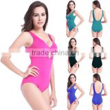 L-3L,Pregnant women large one-piece con,servative cover belly thin fat waist Bikini Halter Swimsuit hot springs increased