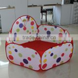 Toddler Balls Pit with basketball Hoop folding play tents with balls
