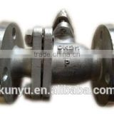 flanged electric stainless steel mini ball valve