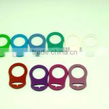 high quality food grade silicone baby personalized pacifier holder