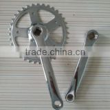 S102CP steel chainwheel bicycle crankset crank length:175mm/152mm/140mm