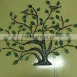 XY13473 tree of life metal wall decor home ornament wrought iron hanging art handicrafts
