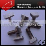 Professional manufacturer specialized in stainless steel 304 316 DIN216 T square head bolt