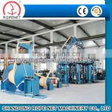giant 8 spindle large mooring rope braiding machine/large mooring rope making machine from ROPENET