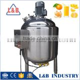 Electric Heating Jacketed Juice Maker Pasterization Machine