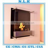 [N.L.K] BRAND high quality indoor table Ethanol fireplace CE certificate china indoor bio glass ethanol fireplace