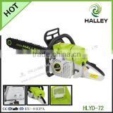 72cc 3.2kw Wood Chippers Bar Cutting Blade Machine Chain Saw with Chinese or Carlton Chain HLYD - 72