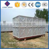 Hot-dipped Galvanized Pressed Steel Water Tank,galvanized crude oil storage tank,bolted HDG steel storage tank