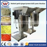 Factory price automatic mashed potato machine/ ginger grinding machine/ garlic paste making machine