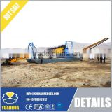 China excavating gold dredger, high quality dredger
