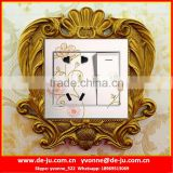 Irregular Golden Wall Switch Board Sticker