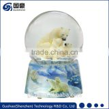 For Zoo shop Polar Bear Snow Globe