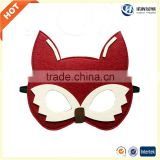 wholesale cheap price best lovely animal face felt mask from manufacturer