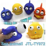 Sea Animal Eyes Pop Out Squeeze Toys