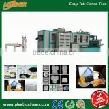 2017 newly hot selling ps foam food container making machinery