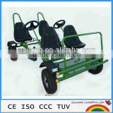 INQUIRY about 4 seat dune buggy ,heavy duty adult pedal go kart, four seat pedal car