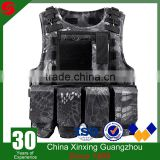 Military and army use 600D polyester modular light weight with tactical belt tactical vest
