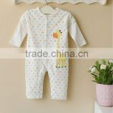 mom and bab 2013 baby clothing 100% cotton infant sleepwear romper