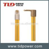 adjustable fiberglass telescopic hot stick