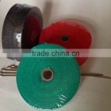 "2""x50' high temperature fiberglass exhaust heat woven wrap exhaust header pipe insulation wrap"