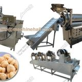 Commercial Chickpea Frying Machine|Fried Chickpeas Making Equipment